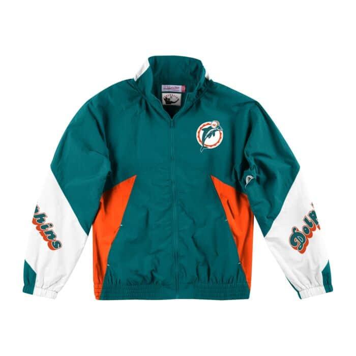 best loved ff345 282d2 Midseason Windbreaker 2.0 Miami Dolphins - Shop Mitchell ...