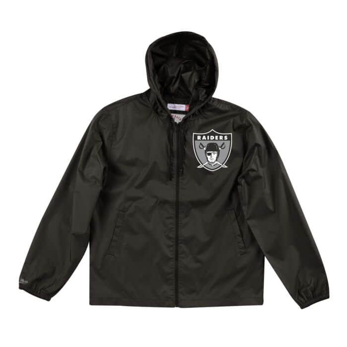 detailed look ee5d4 041a3 Team Captain Lightweight Windbreaker Oakland Raiders - Shop ...