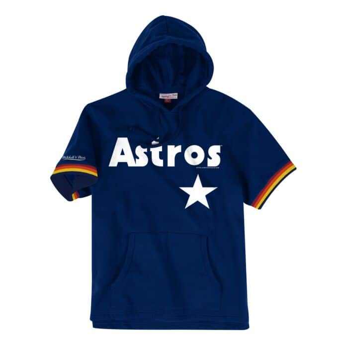 competitive price 8b187 ecc44 French Terry Short Sleeve Hoody Houston Astros - Shop ...