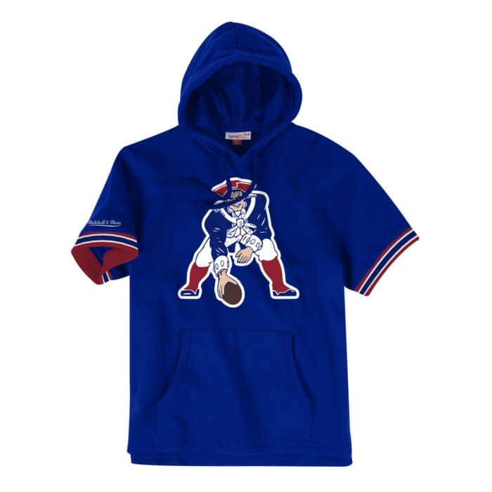huge discount 5c192 836d9 French Terry Short Sleeve Hoody New England Patriots - Shop ...