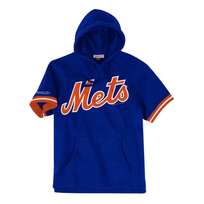 uk availability baf9a e7d4a French Terry Short Sleeve Hoody New York Mets - Shop ...