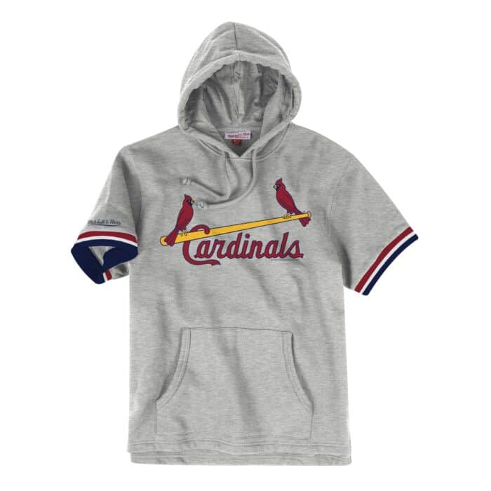 new style d29b4 9fde5 French Terry Short Sleeve Hoody St. Louis Cardinals - Shop ...
