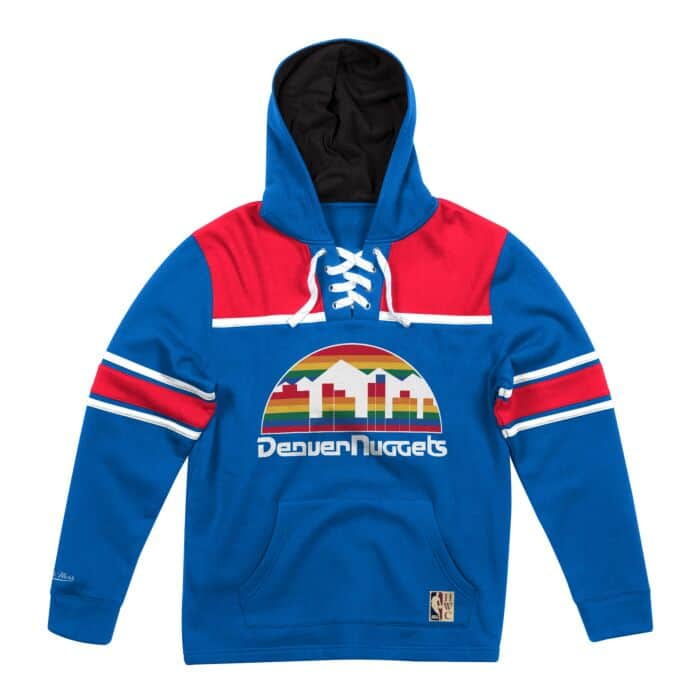 reputable site ae19f 13a92 Hockey Hood Fleece Denver Nuggets - Shop Mitchell & Ness ...