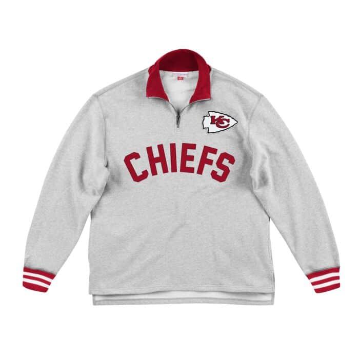 online retailer b1cd8 f9d15 Sealed The Victory 1/4 Zip Kansas City Chiefs - Shop ...