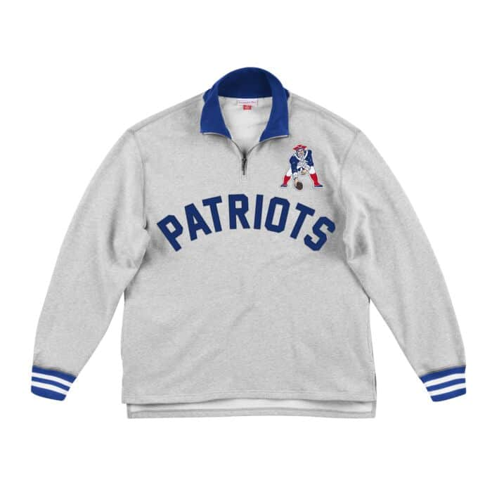 official photos 2aa45 7bcae Sealed The Victory 1/4 Zip New England Patriots - Shop ...