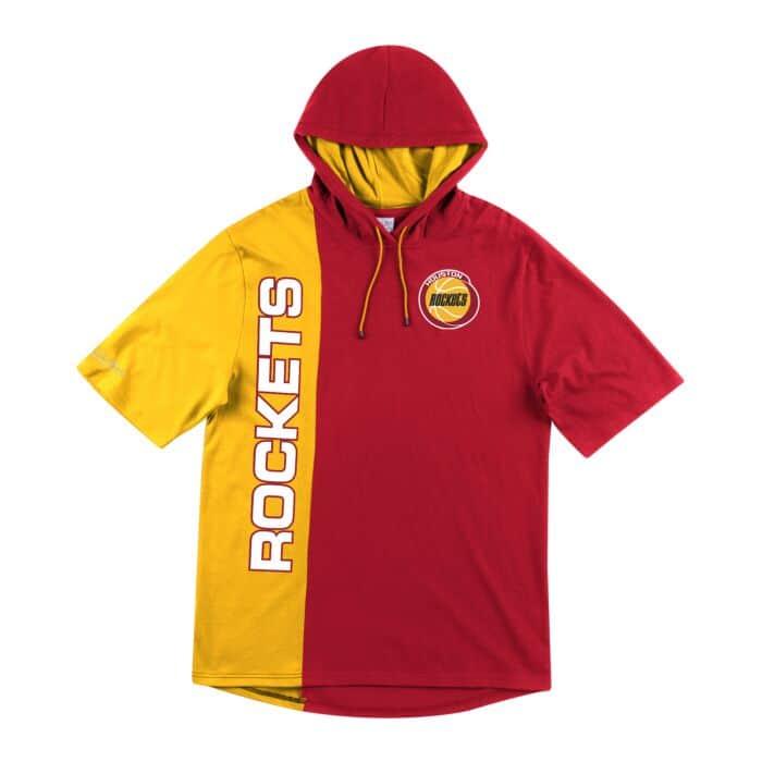 Shortsleeve Split Hoody Houston Rockets