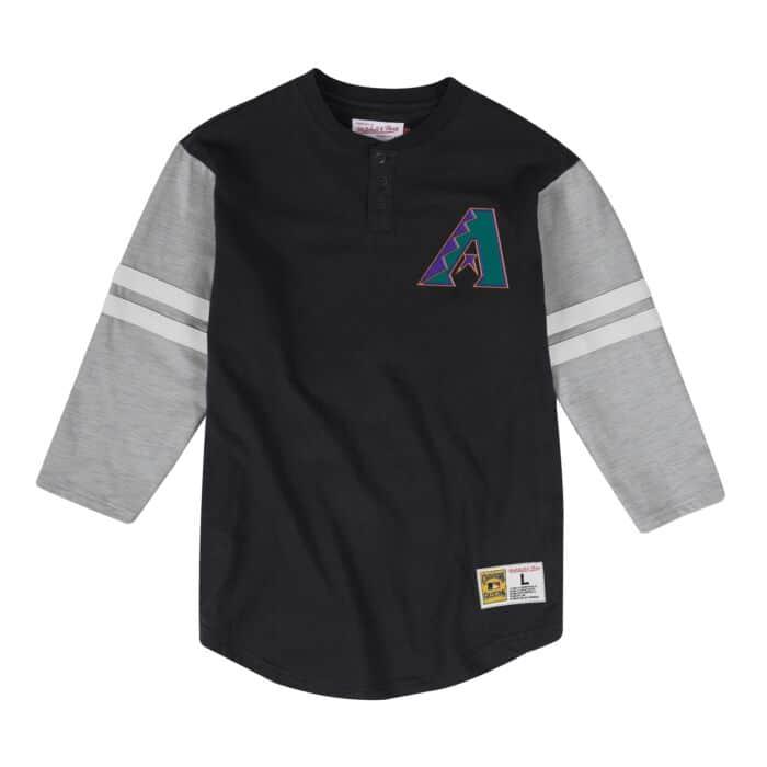 promo code 2fd4a 479ba Team Logo Henley Arizona Diamondbacks