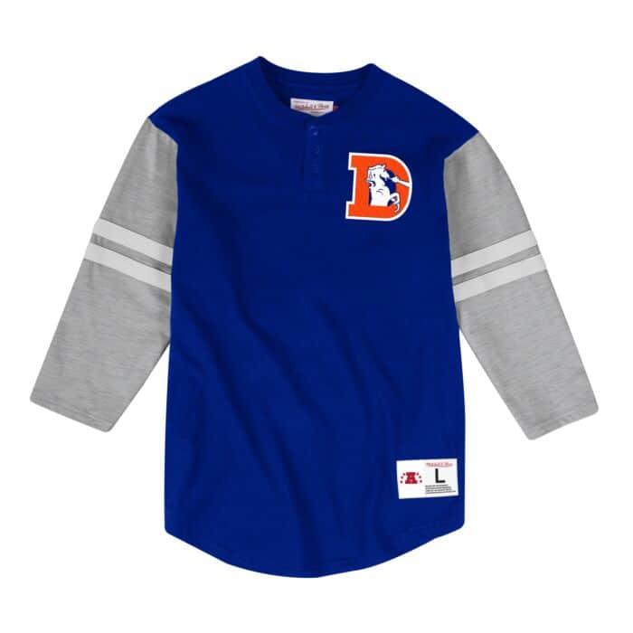 finest selection fe30f ef93e Team Logo Henley Denver Broncos