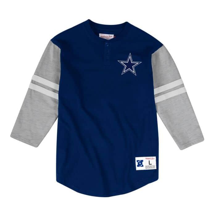timeless design 0992e b3763 Team Logo Henley Dallas Cowboys