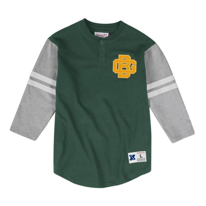 outlet store sale 94aad 87ae6 Team Logo Henley Green Bay Packers