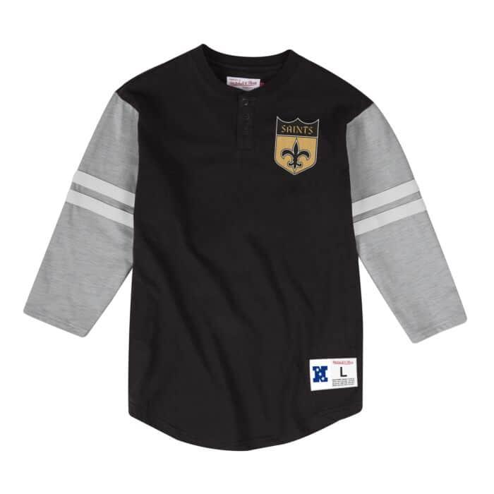 sale retailer 4e424 52558 Team Logo Henley New Orleans Saints