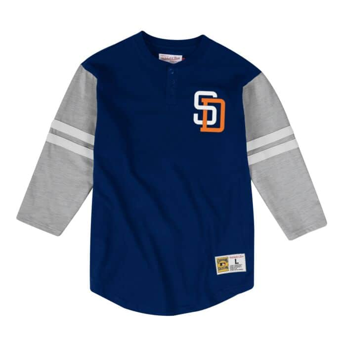 in stock bf541 e270a Team Logo Henley San Diego Padres