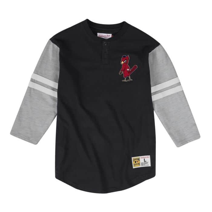 cheap for discount 18c72 39885 Team Logo Henley St. Louis Cardinals
