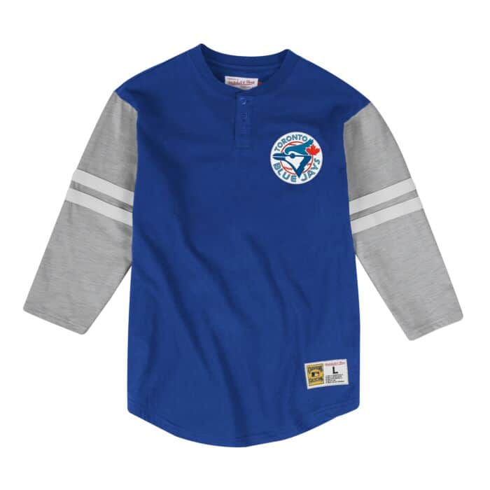 huge discount 2634a f8978 Team Logo Henley Toronto Blue Jays