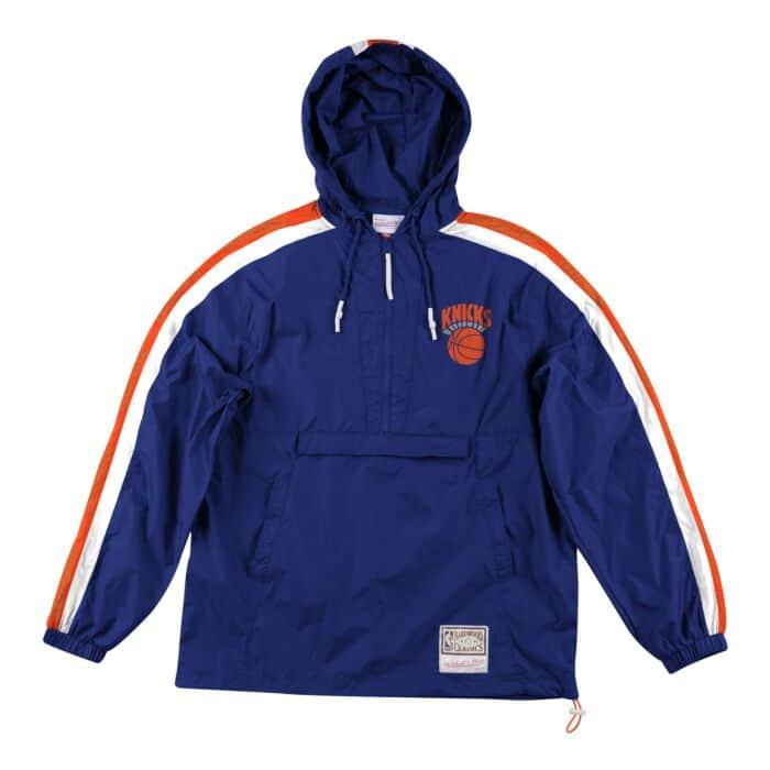newest 862e6 50c65 Packable Nylon Anorak New York Knicks