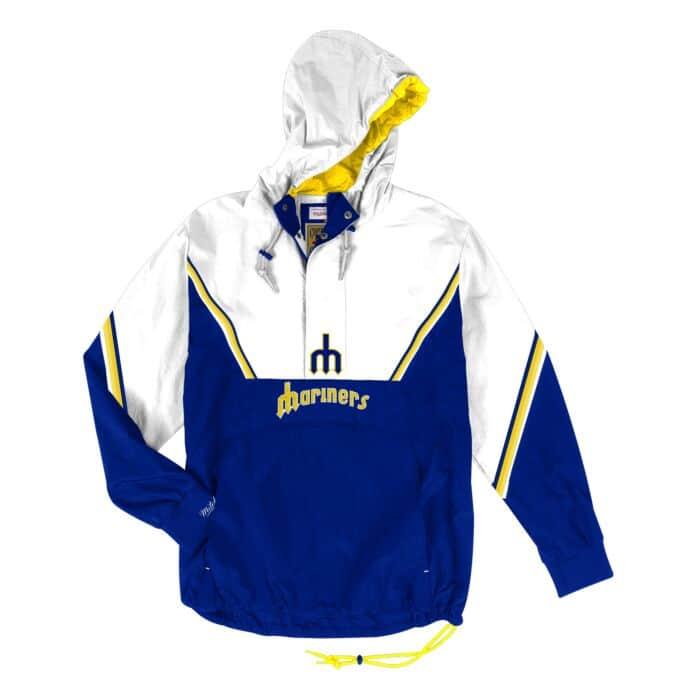hot sale online cf4b5 b0f2b Half Zip Anorak Seattle Mariners