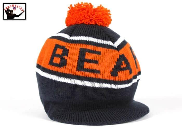 551b6282c Winter Caddy Knit Hat Chicago Bears Mitchell & Ness Nostalgia Co.