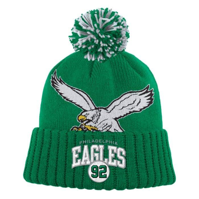 37fece943 N&N Pom Philadelphia Eagles Reggie White - Shop Mitchell & Ness Knit ...