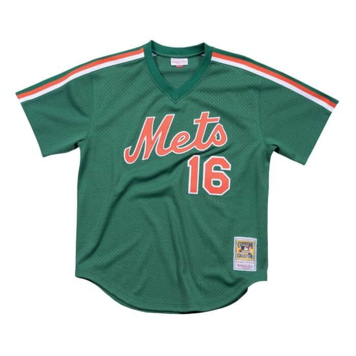 huge discount 8052d b55df Dwight Gooden 1988 Authentic Mesh BP New York Mets Mitchell ...