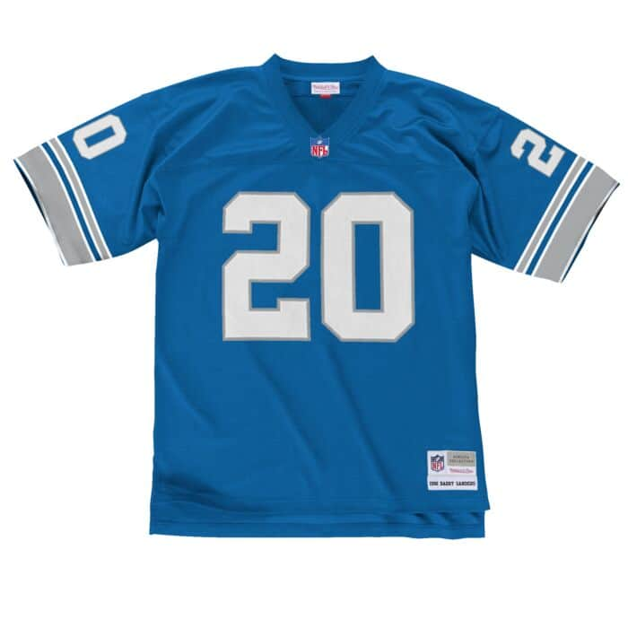 new style 0e764 3aa79 Legacy Jersey Detroit Lions 1996 Barry Sanders
