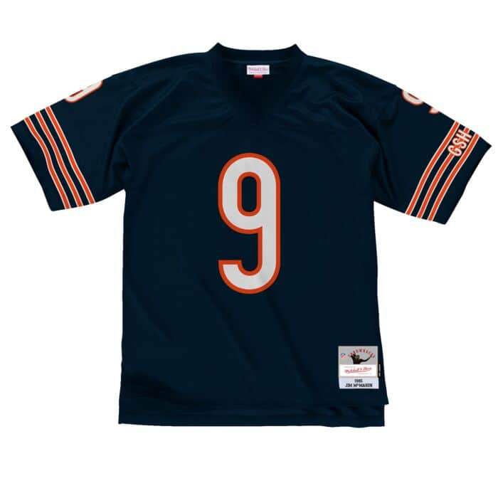 Jersey Chicago Bears 1985 Jim McMahon
