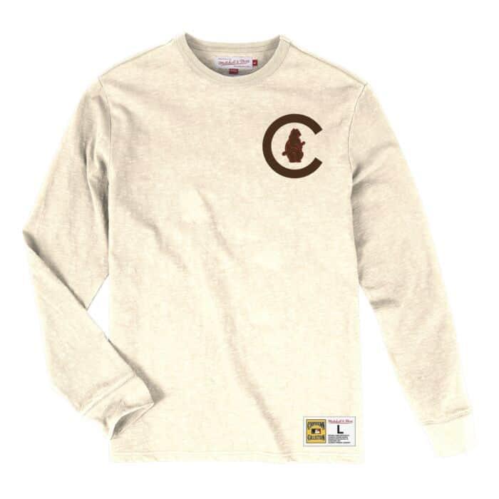 100% authentic 567bb 1808a Slub Longsleeve Chicago Cubs - Shop Mitchell & Ness Shirts ...