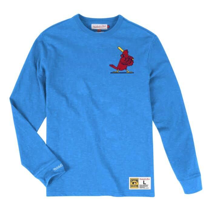innovative design a2d09 8a244 Slub Longsleeve St. Louis Cardinals - Shop Mitchell & Ness ...