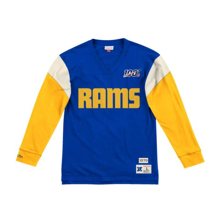 hot sale online 26767 ffd44 Team Inspired Longsleeve Los Angeles Rams