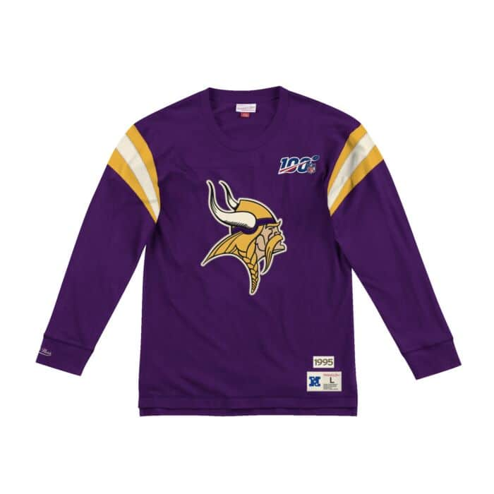 big sale 90679 0ae67 Team Inspired Longsleeve Minnesota Vikings - Shop Mitchell ...