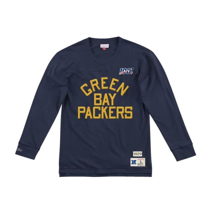 best service 20b87 8d095 Team Inspired Longsleeve Green Bay Packers - Shop Mitchell ...