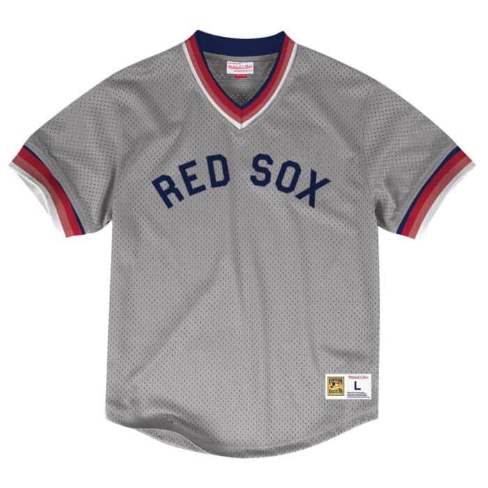 online store 972e6 dcb0b Mesh V-Neck Boston Red Sox