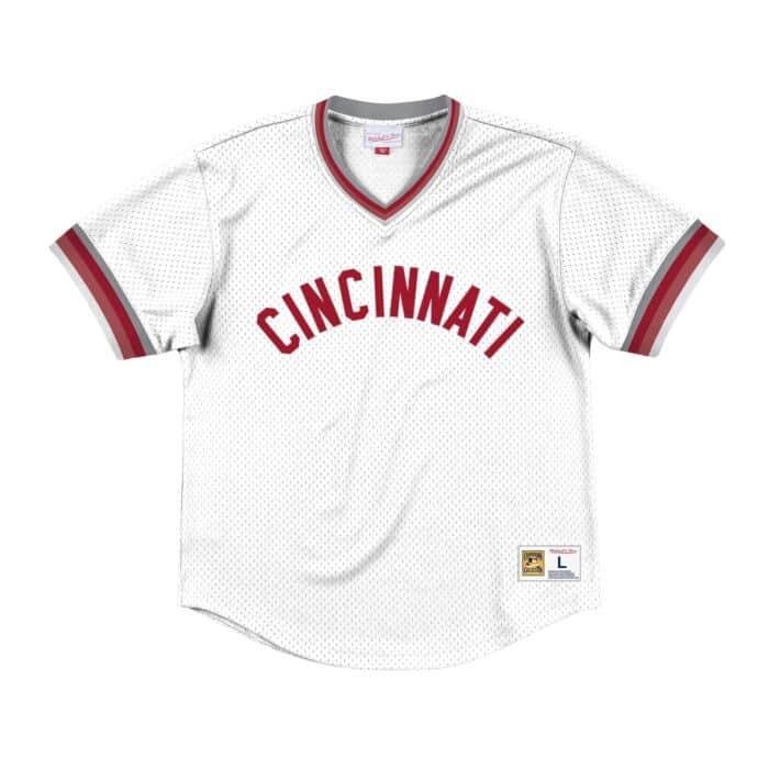 dff89e479 Mesh V-Neck Cincinnati Reds