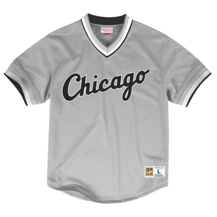 new product c50b4 3d579 Mesh V-Neck Chicago White Sox