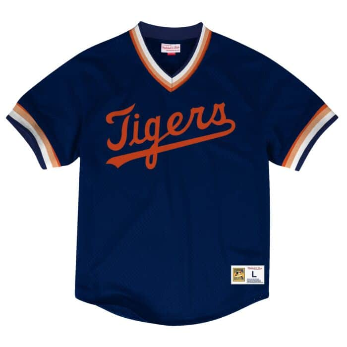 check out ee494 9b9ef Mesh V-Neck Detroit Tigers