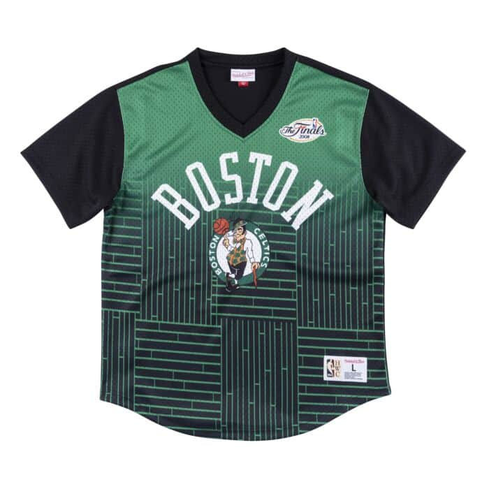 finest selection cdc63 f3116 Game Winning Shot Mesh V-Neck Boston Celtics