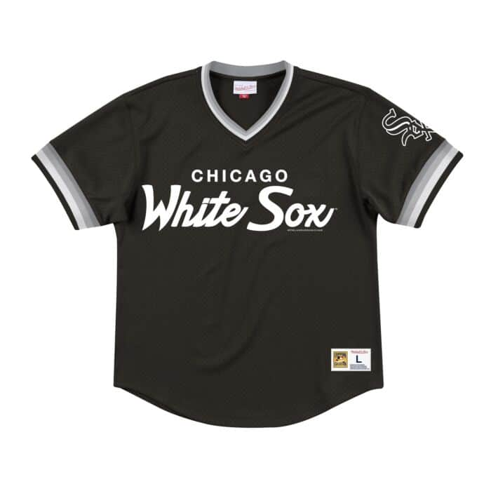 quality design 68dc6 5f029 Special Script Mesh V-Neck Chicago White Sox
