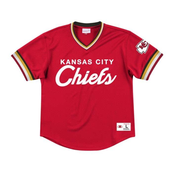 best website b5fb1 16b16 Special Script Mesh V-Neck Kansas City Chiefs