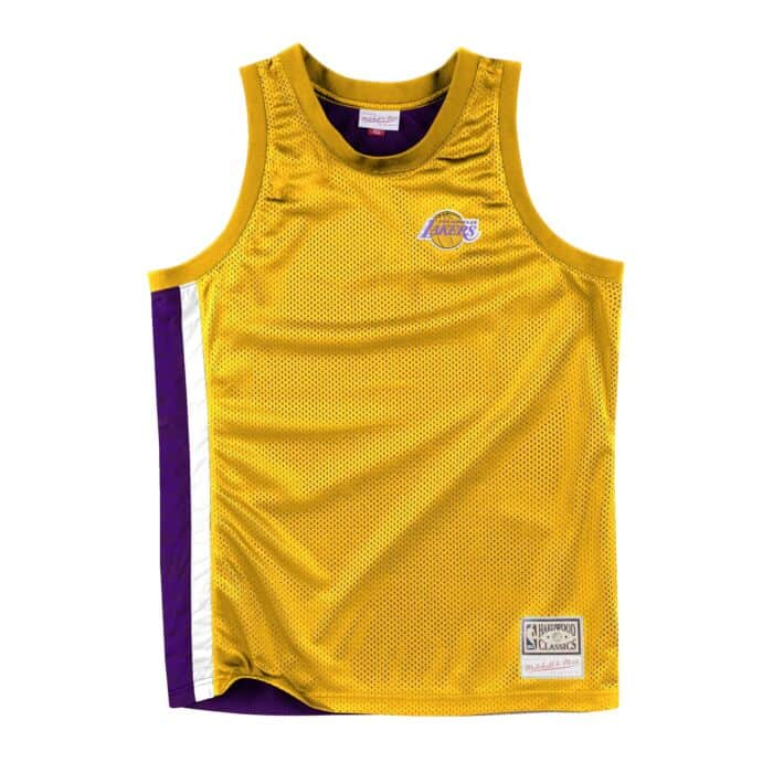 info for 52244 ce9b4 Layered Air Mesh Jersey Los Angeles Lakers