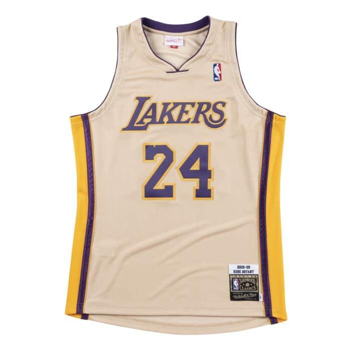 save off 3bdec fabbf Premium Gold Jersey Los Angeles Lakers 2008-09 Kobe Bryant