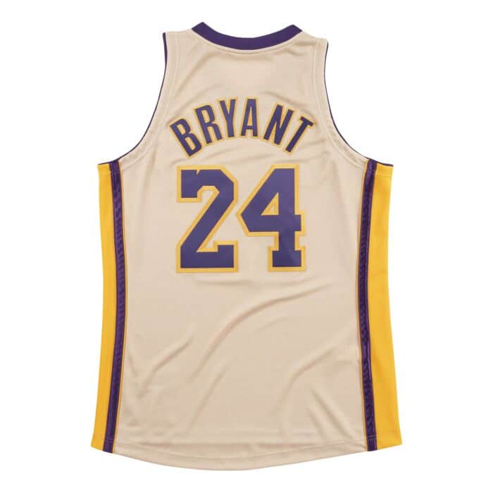save off d573f 8fbd1 Premium Gold Jersey Los Angeles Lakers 2008-09 Kobe Bryant