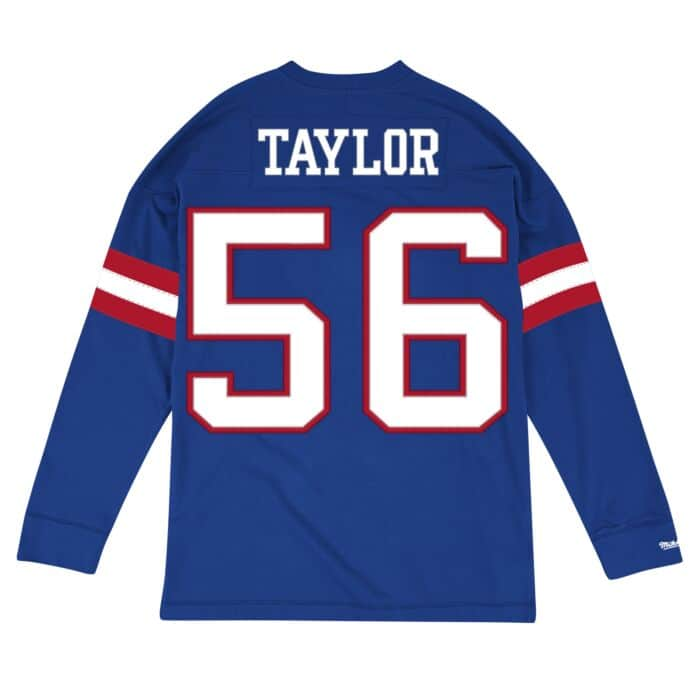 quality design a43d3 c8fd9 Name & Number Longsleeve New York Giants Lawrence Taylor ...