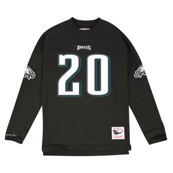 promo code a0b41 f53b6 Name & Number Longsleeve Philadelphia Eagles Brian Dawkins