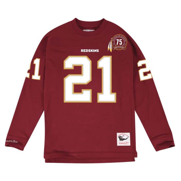 promo code ef9ae 8add1 Name & Number Longsleeve Washington Redskins Sean Taylor