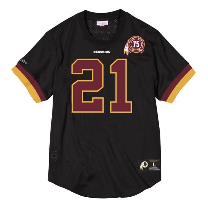 best service e0088 9088e Name & Number Mesh Crew Neck Washington Redskins Sean Taylor