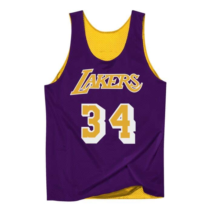 best sneakers ab7ff 1e398 Reversible Mesh Tank Los Angeles Lakers Shaquille O'Neal