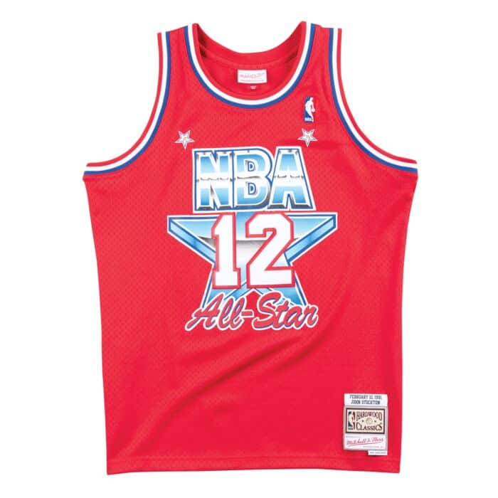 cheap for discount 3746b 324a7 Swingman Jersey All-Star West 1991 John Stockton