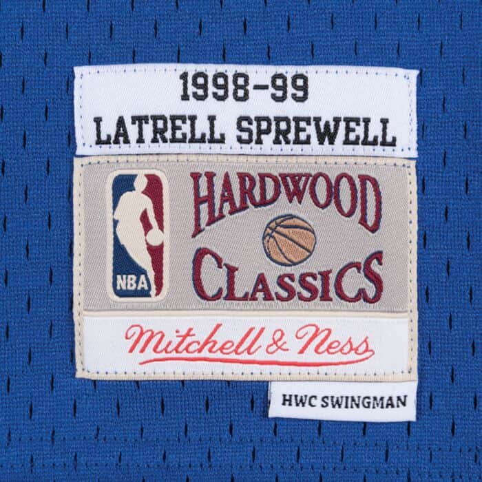 promo code 3b0d9 5df4a Swingman Jersey New York Knicks Road 1998-99 Latrell Sprewell