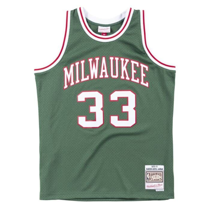 buy popular 7f587 a3c5b Swingman Jersey Milwaukee Bucks 1970-71 Kareem Abdul-Jabbar