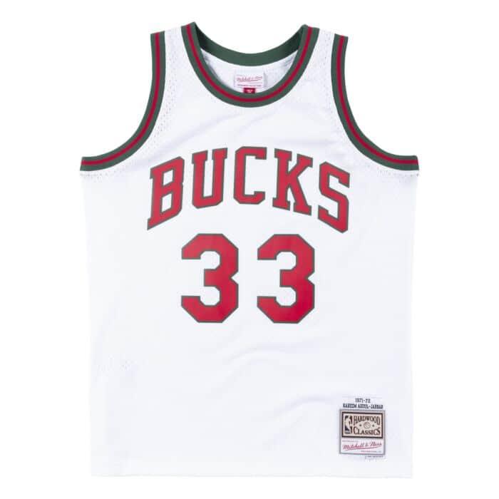 new concept 7dd8b 862df Swingman Jersey Milwaukee Bucks 1971-72 Kareem Abdul-Jabbar ...