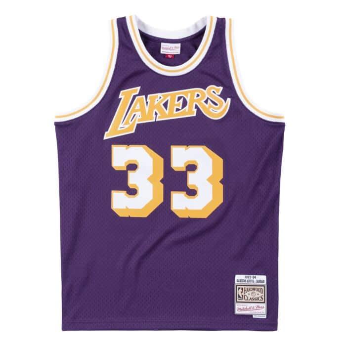 competitive price 2eddd 2e7fc Swingman Jersey Los Angeles Lakers 1983-84 Kareem Abdul ...
